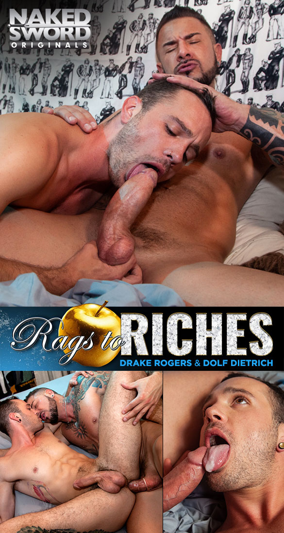 Rags to Riches, Episode 1 | The Lower East Side: Dolf Dietrich Fucks Drake Rogers