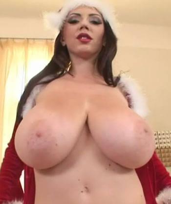 Xmas Big Boobs: busty women in